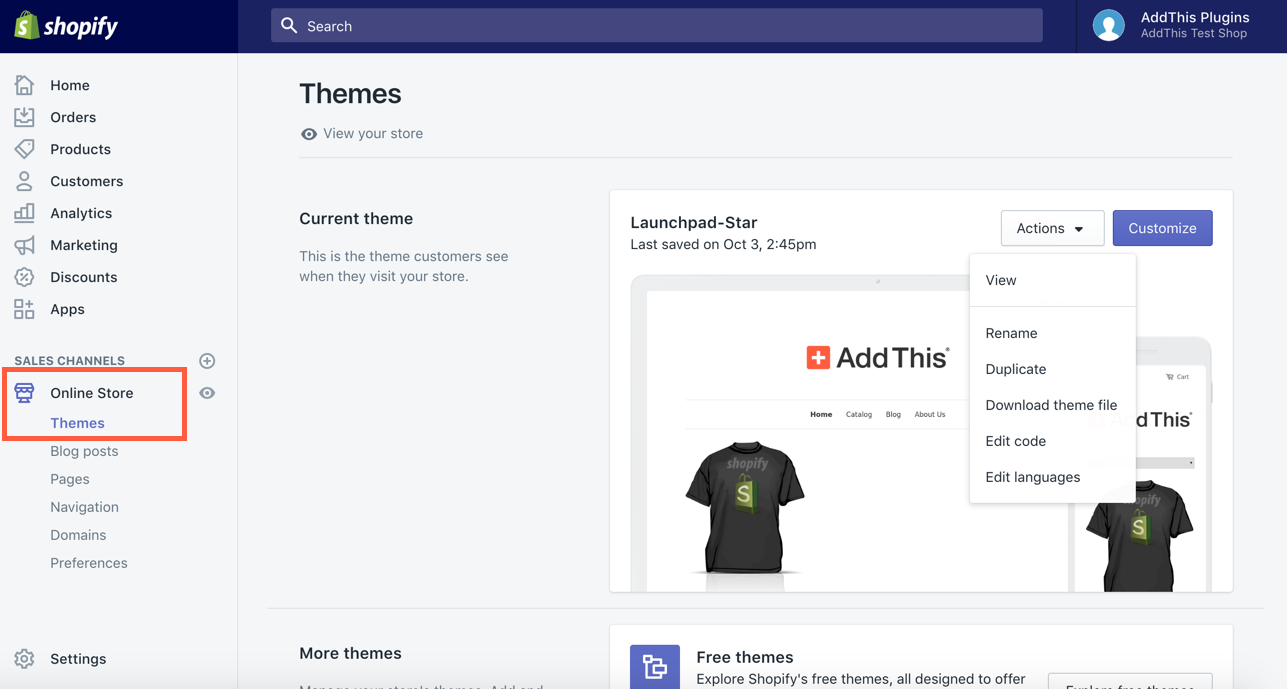 Can You Change Shopify Themes?